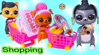 LOL Surprise Interactive Pets Go Shopping At Shopkins Small Mart for Blind Bags
