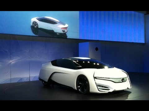 Honda FCEV Concept Car Debut at the LA Auto Show