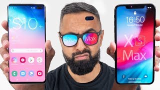 Samsung Galaxy S10+ vs Apple iPhone XS Max