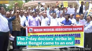 West Bengal Doctors Call Off Strike After Meeting CM Mamata Banerjee