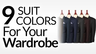 9 Suit Colors A Man Should Consider | Mens Suits & Color | Suit Colors To Buy In Priority Order