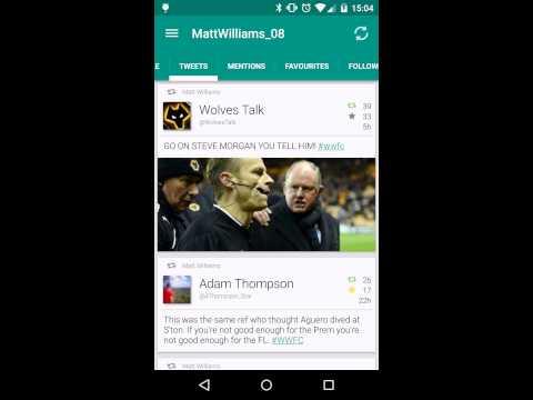Video of TweetComb for Twitter