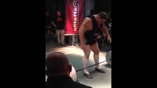 Энди Болтон - тяга 420 кг (154 кг)