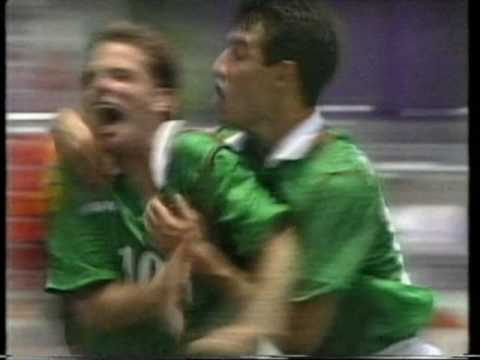 World Cup USA 94 Bulgaria Mexico Montage Man With A Harmonica BBC