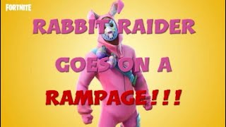 Rabbit Raider Goes On A Rampage !!! -  Fortnite: Battle Royale