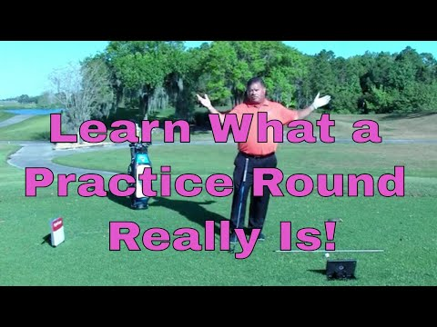 Learning to Practice Your Skills on the Golf Course