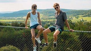Maryland: Two Boys, One Yurt | TRAVEL VLOG