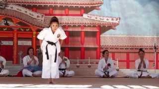 okinawan festival 2014 women in karate in hawaii demonstration