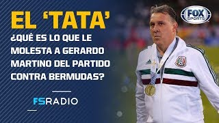 "¡Gerardo Martino, ""molesto"" con la Concacaf Nations League!"