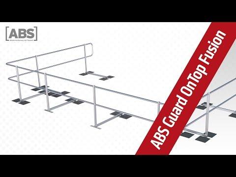 Présentation vidéo compacte concernant le garde-corps de protection ABS Guard OnTop Fusion