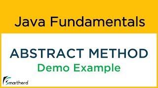 #18.2 Java Abstract method - abstract keyword example. Java Beginners Tutorials