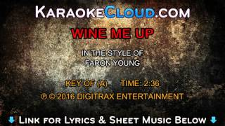 Faron Young - Wine Me Up (Backing Track)