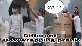BOX WRAPPING PEOPLE PRANK   || PRANK IN INDIA || ANS Entertatinment 2020