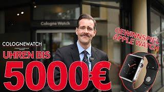 Uhren bis 5000 € GEWINNSPIEL Apple Watch