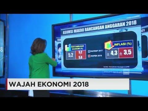 Potret Wajah Ekonomi Indonesia 2018 di Tangan Jokowi