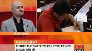 CNN Turk YGS Değerlendirmesi - Siralamam.com Projeleri