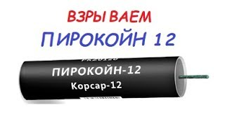 """Пирокойн 12"" PKZ0120 петарда 1шт. от компании Интернет-магазин SalutMARI - видео"