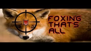 Brilliant Night Vision Fox Shooting Montage 54 Red Foxes Shot