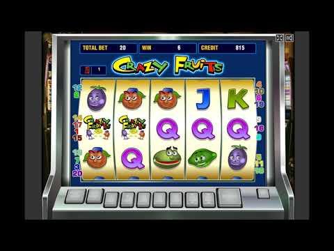 Игровой автомат CRAZY FRUITS играть бесплатно и без регистрации онлайн