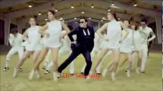 Gangnam Style  Slow Motion With  Lyrics