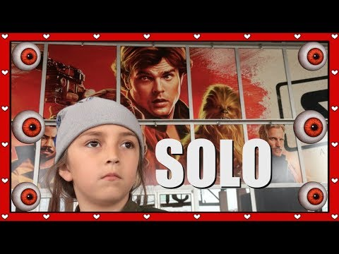 Solo A Star Wars Story! KID Movie REVIEW