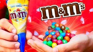 ПОВТОРИЛИ 3 ВКУСНЯШКИ ИЗ СУПЕРМАРКЕТА / M&M's / Fanta ананас / мороженое M&M's (Испания)