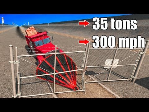 BeamNG Drive - HACK THAT GATE!