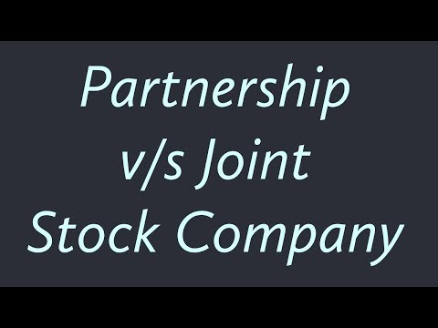 Difference between Partnership and Joint Stock Company | Class 11/12 and HSC