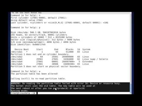 fdisk Command in Linux with Examples | LinuxHelp Tutorials