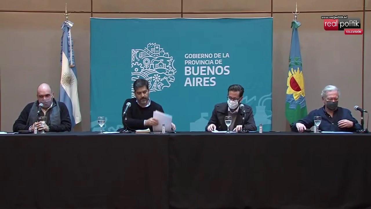 Agustín Simone presentó obras viales para 31 municipios bonaerenses