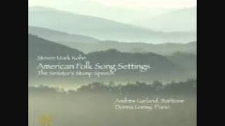 Andrew Garland sings Poor Wayfaring Stranger