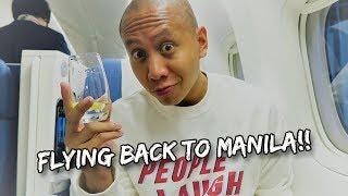 FLYING BACK HOME TO MANILA, PHILIPPINES! | Vlog #170