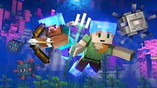 Ocean Monument (Minecraft Animation)