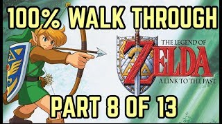 4K LET'S PLAY A LINK TO THE PAST REMASTERED - 100% COMPLETIONIST - PART 8 OF 13