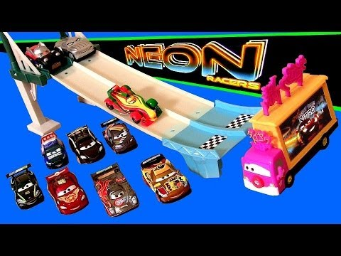 Cars 2 Neon Racers Track Set Taia Decotura