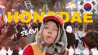 SERU! Di HONGDAE, Nonton Street dance dan Ketemu BTS Palsu - FATIMVLOG38 DAY 2 (PART 2)