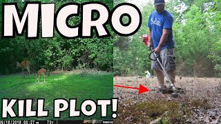 Learn How To Make A Food Plot With No Equipment!