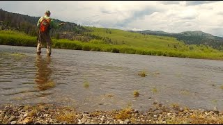 FLY FISHING BIG SKY MONTANA-with Chris Walklet
