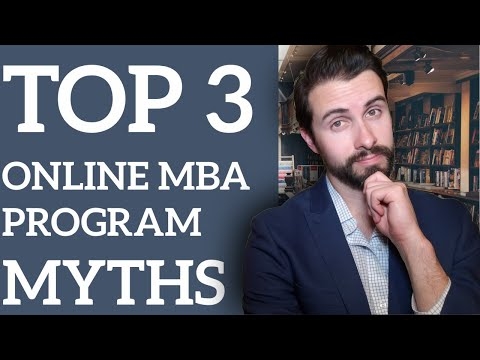 Top 3 Myths About Online MBA Programs