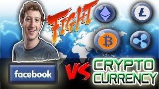 Facebook Provoca Derrumbe del Bitcoin #Bitcoin #Ethereum #Ripple #Cardano #Litecoin