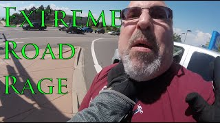 EXTREME Road Rage - Driver Attacks Biker