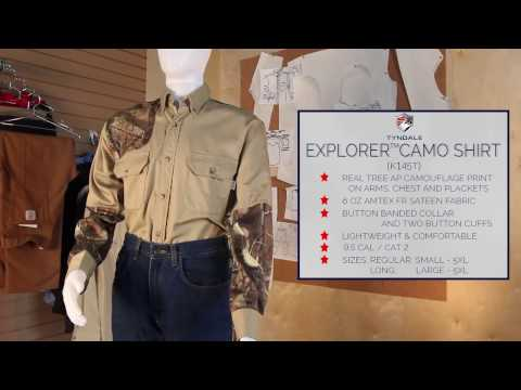 Explorer Camo Shirt K145T