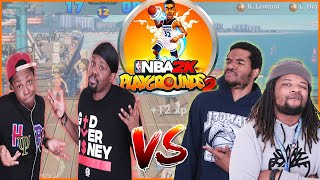 So Much Hostility You Can FEEL It! Things Get Heated In This Playground Match-Up!