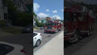 Syracuse fire department ladder 4 response from SCSD