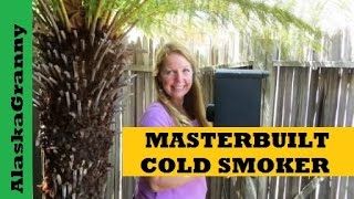 Masterbuilt Cold Smoker Kit- How When Why Use a Cold Smoker