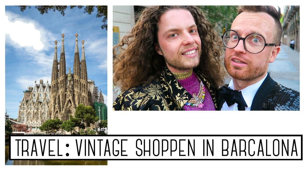 Vintage shopping in Barcelona