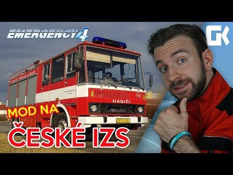 ČESKÉ IZS! | Emergency 4 CZ Mod #01