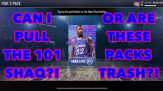 ENORMOUS APRIL FOOLS PACK OPENING IN NBA LIVE MOBILE 19!
