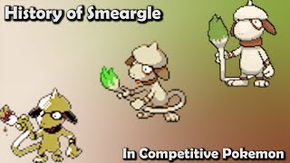 Smeargle  - (Pokémon) - How GOOD was Smeargle ACTUALLY? - History of Smeargle in Competitive Pokemon (Gens 2-6)