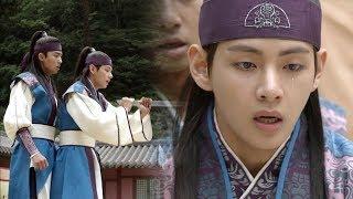 Kim Tae Hyung Saves Park Seo Jun From a Crisis [Hwarang Ep 19]